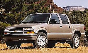 Free Sample Vehicle Chevrolet S10 Pick Up Truck Demo